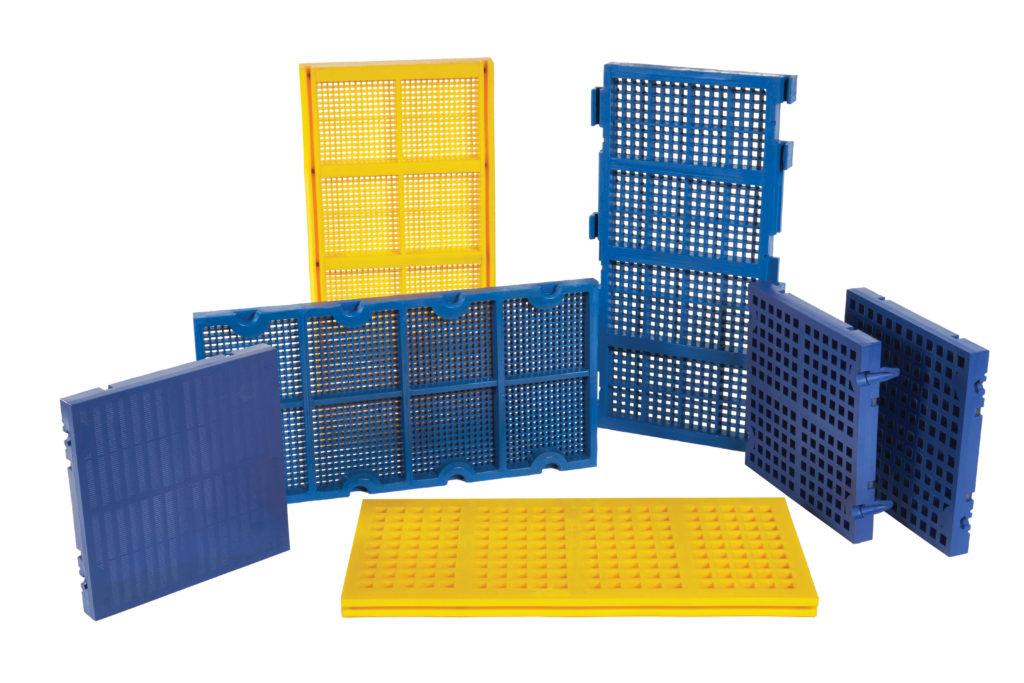 urethane modular panels urethane screen panels polyurethane screens