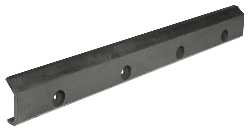rubber coated tension rails